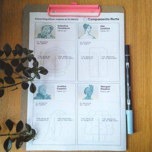 Fichas biográficas para el aula de idiomas de mujeres en la ciencia