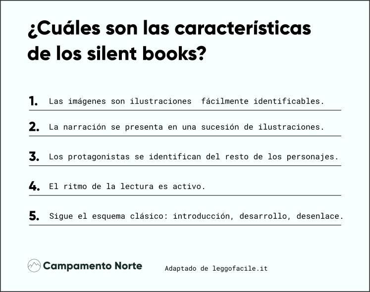 Características de los silent books