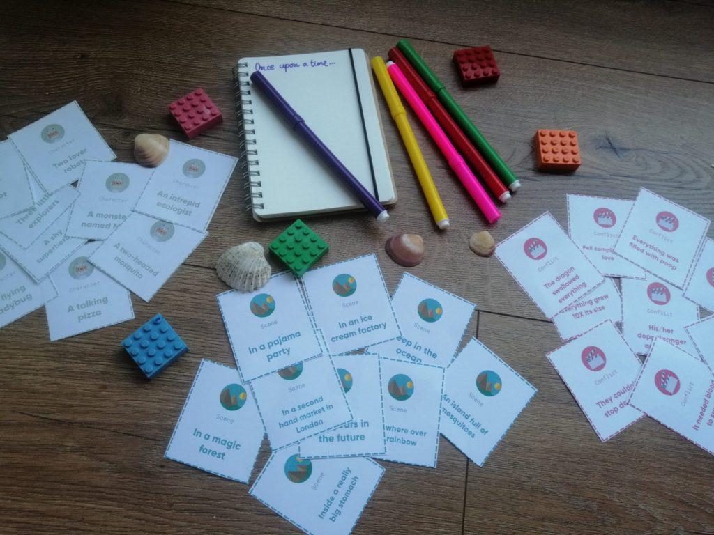 Material para crear historias en el aula de idiomas
